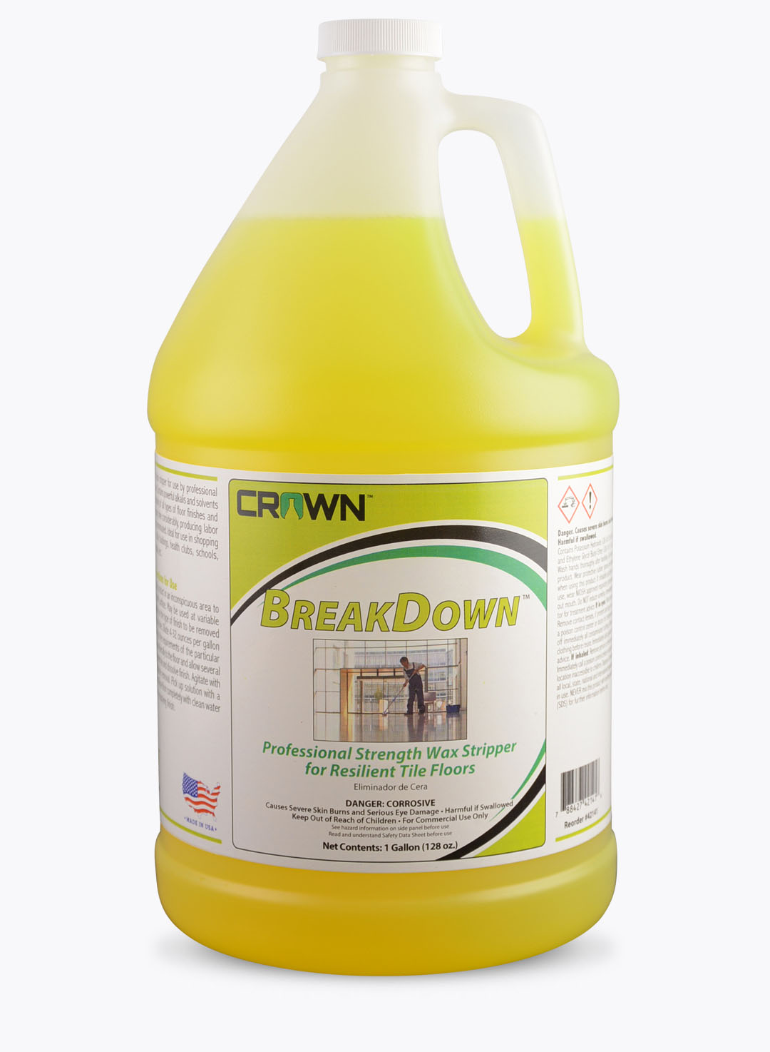 Crown Chemical Floor Care Breakdown